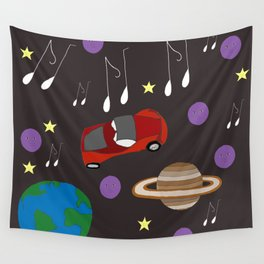 Awesome Ride, Starman Wall Tapestry
