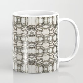 Sculpted Pattern Frieze Coffee Mug