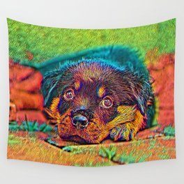 AnimalColor_Dog_002_by_JAMColorfs Wall Tapestry