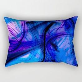 Wicked Futuristic Street Art Rectangular Pillow