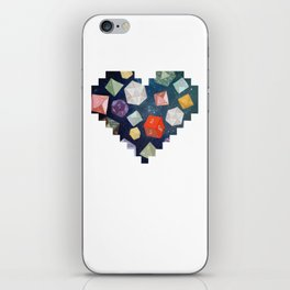 Heart of Dice iPhone Skin