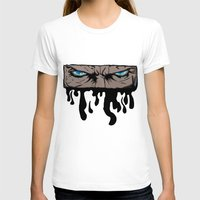 infamous T-shirts featuring Comic eyes (infamous) by  Steve Wade ( Swade)