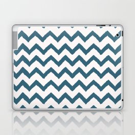 Chevron Teal Laptop & iPad Skin