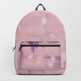 Beautiful Rose Gold Blush Interior Collection Backpack