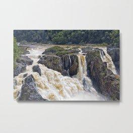 Barron Falls in Queensland Metal Print