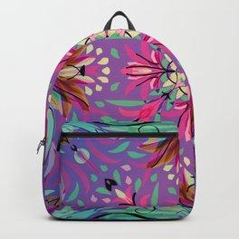 Abstract garden 2d Backpack