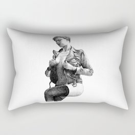 Leather Rectangular Pillow