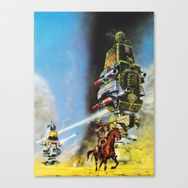 The Wild West Guide To The Galaxy #230 Canvas Print