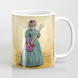 Tessy Tigress Shreds a Solo . . . Grrrrrr! Coffee Mug