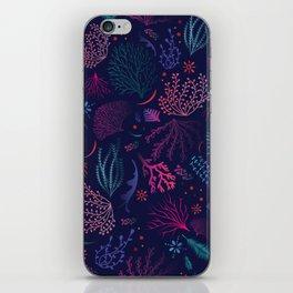 Vibrant Coral iPhone Skin