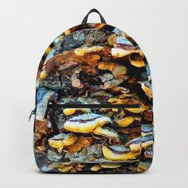 Tree Fungi Pattern Backpack