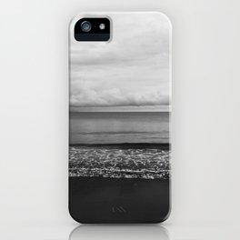 black sand iPhone Case