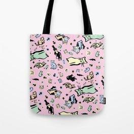 Cat Party  Tote Bag