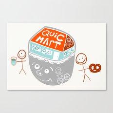 i are convenience Canvas Print