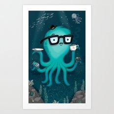 Nerdtopus Art Print
