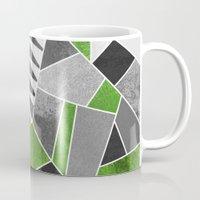 concrete Mugs featuring Concrete Jungle by Elisabeth Fredriksson
