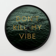 Vibe Killer Wall Clock