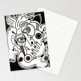 Angel With The Black Hat Stationery Cards