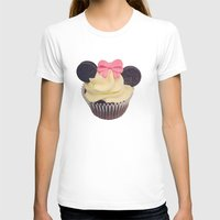 minnie mouse T-shirts featuring Minnie Mouse Cupcake by Loulabelle