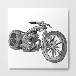Juan's Chopper Metal Print