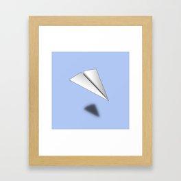 Paper Airplane 12 Framed Art Print
