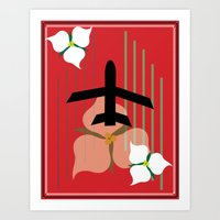 Flight In Ontario Art Print