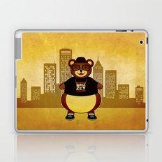 Old School Bear Laptop & iPad Skin