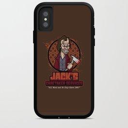 Jack's Caretaker Services iPhone Case