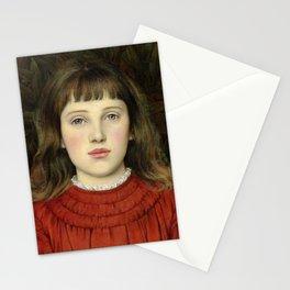 """Evelyn De Morgan """"Portrait of Alice Mildred Spencer Stanhope"""" Stationery Cards"""
