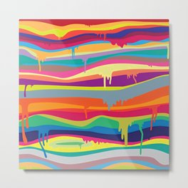DRIPPING---COLOR Metal Print