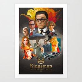 Kingsman: The Golden Circle Art Print