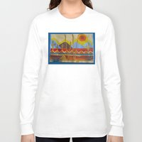 desert Long Sleeve T-shirts featuring Desert by Abundance