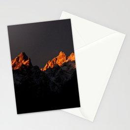 Good Morning Tetons Stationery Cards