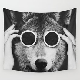 Wolf Glam Wall Tapestry