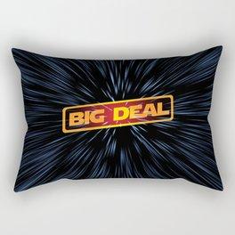 Warp Speed Rebel Big Deal Rectangular Pillow