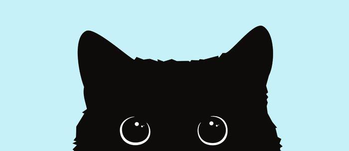 Black cat I Coffee Mug