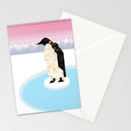 Penguin Time Stationery Cards