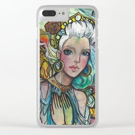 Fairy Queen Clear iPhone Case