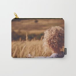 Girl in the field Carry-All Pouch