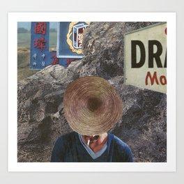 """THE WOODSMAN"" Art Print"