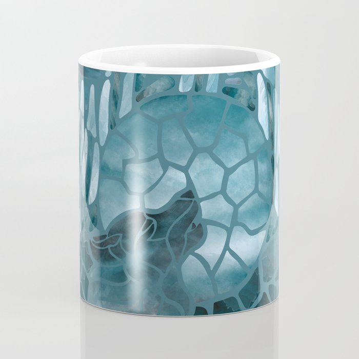 Moonlight Story (Teal) Coffee Mug