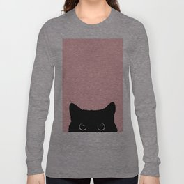 Black Cat Langarmshirt