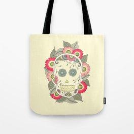 ColoredSkull Tote Bag