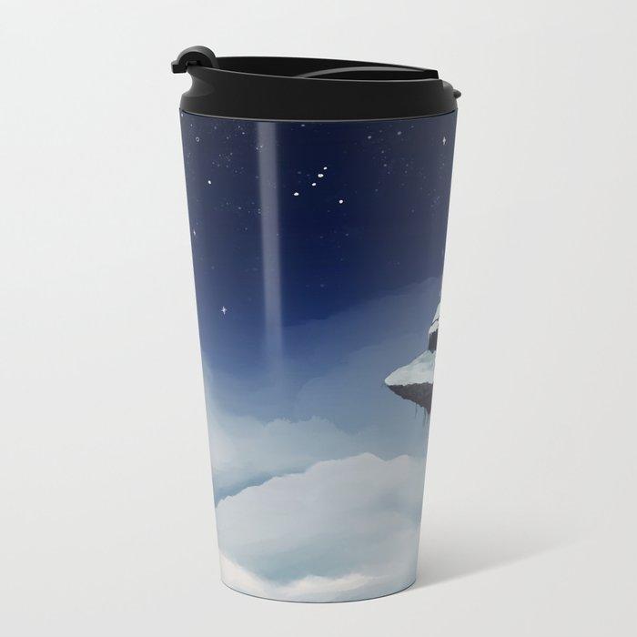 Isolated Metal Travel Mug