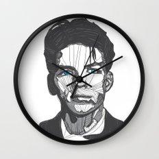 Ol' Blue Eyes Wall Clock