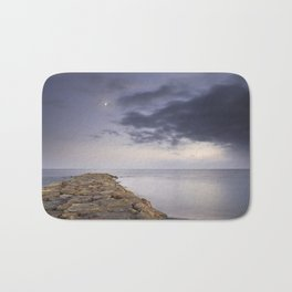 The way to the moon Bath Mat