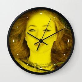 Sophie Turner - Celebrity (Florescent Color Technique) Wall Clock