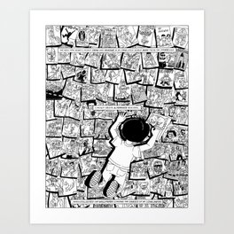 Quarterly Stories Creating Alternate Realities Print Art Print