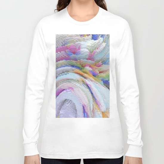 Abstract 223 Long Sleeve T-shirt
