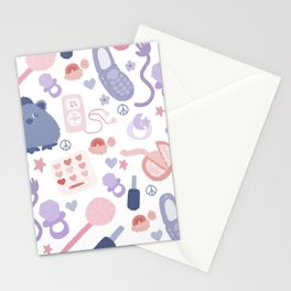 2000s Pastel Stationery Cards